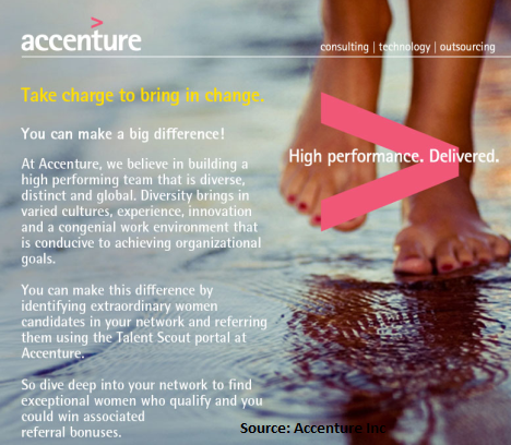 accenture careers and interview through employee referral
