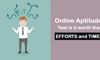 Online Aptitude Test – Is it worth the efforts and time