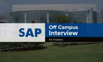 SAP Labs Off-Campus Interview Experience, Bangalore
