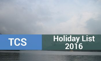Tata Consultancy Services (TCS) Holiday List 2016