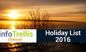 Infotrellis Holidays 2016 – Chennai