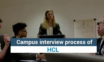 HCL Campus Interview Process 2016