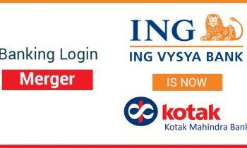 ING Vysya- Kotak Internet Banking login after merger