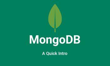 MongoDB- A Quick Intro
