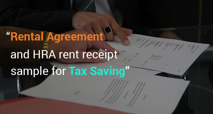 rental agreement and hra rent receipt sample for tax saving  u2013 joblagao com