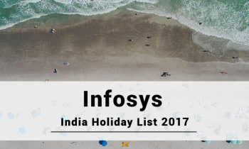 Infosys India Hyderabad Holidays 2017