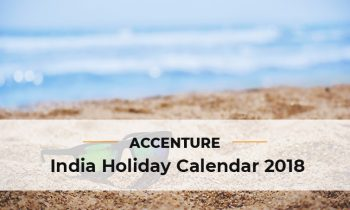 Holiday List of Accenture 2018